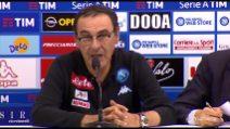 """Sarri: """"Il Napoli è cresciuto, l'anno prossimo possiamo far meglio ancora"""""""