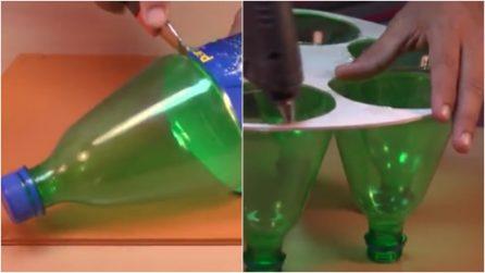 Come riciclare un flacone di plastica e trasformarlo in for Riciclare plastica in casa