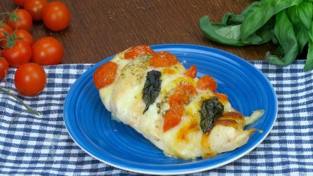 Pollo alla caprese: il piatto facile e gustoso pronto in pochi minuti!