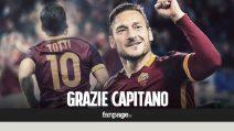 """Ultima partita di Totti con la Roma, da Torino a Palermo il saluto degli italiani: """"Addio leggenda"""""""