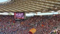 Totti, applausi per il capitano e fischi per Spalletti