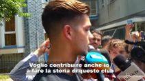"""André Silva: """"Voglio fare la storia del Milan"""""""