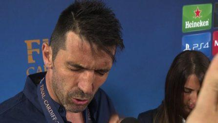 Champions, grande delusione di Buffon: Hanno meritato di vincere