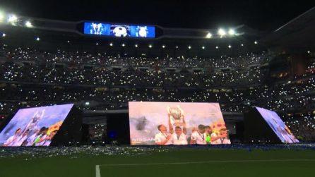 I tifosi del Real Madrid festeggiano la vittoria della Champions