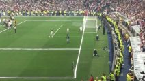 """Il figlio di Cristiano Ronaldo """"incanta"""" i tifosi e segna un fantastico gol"""