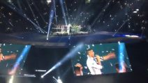 """""""Cristiano Pallone D'oro"""", il coro dei tifosi del Real Madrid durante la festa per la Champions"""