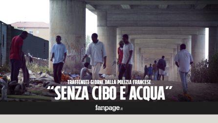 """Ventimiglia, il dramma dei migranti: """"Qui è come una giungla, polizia francese ci trattiene senza acqua né cibo"""""""
