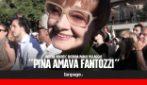 """Morto Paolo Villaggio, Milena Vukotic ai funerali: """"Pina ha sempre amato il suo Fantozzi"""""""