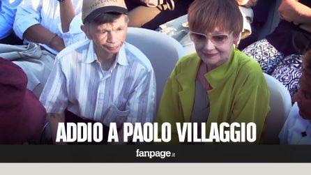 Funerali Paolo Villaggio, l'addio di parenti, amici e fan. Il ricordo di Plinio Fernando (Mariangela)