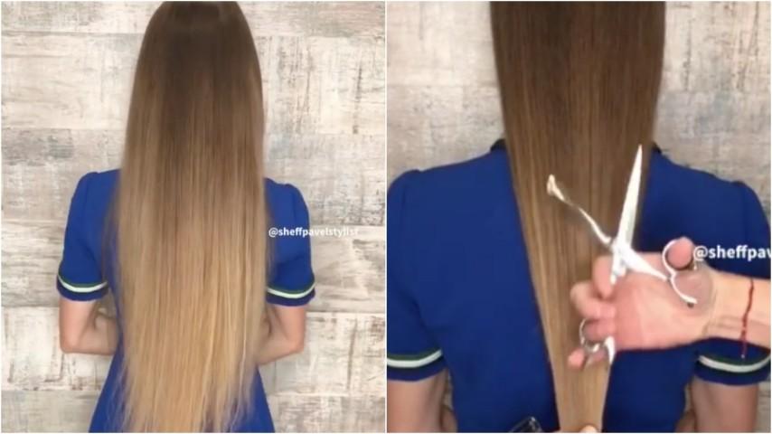 Tagliare i capelli ogni mese