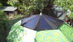 Il designer crea un ombrellone solare: un'idea davvero geniale
