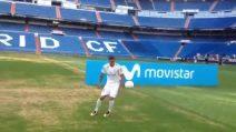 Il Real presenta il nuovo colpo ma Theo Hernandez fallisce nei palleggi