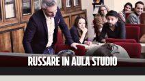 Candid camera: Russare in Aula Studio