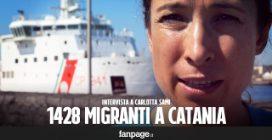 """Maxi sbarco di migranti a Catania: """"Molti costretti a salire sui barconi della morte"""""""
