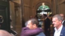 Totti abbraccia Pallotta, il Pupone pronto per un ruolo da dirigente