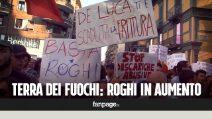 Terra dei Fuochi: aumento dei roghi la rabbia dei comitati