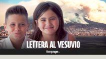 """Incendio Vesuvio, la lettera dei bambini al vulcano: """"Ti promettiamo che ti faremo tornare come prima"""""""