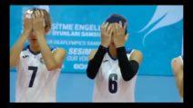 L'inno di Mameli nella lingua dei segni della nazionale di pallavolo femminile
