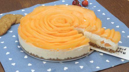 Cheesecake de melão, a sobremesa fresca e gostosa para o verão!