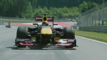 Sébastien Ogier alla guida di una Formula 1
