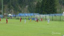Lazio, Immobile in gol nell'amichevole contro la Spal