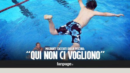 """Catania, bambini cacciati dalla piscina perché migranti: """"Non vogliamo i nostri bambini accanto a loro"""""""