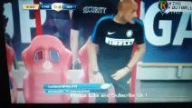 Il gesto di Luciano Spalletti che non sfugge alle telecamere
