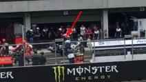 MotoGP Brno, dopo Iannone anche un altro incidente nel cambio moto ai box