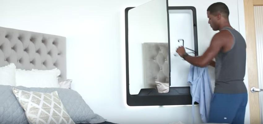 Questo specchio funziona come una lavanderia personale - Condizionatore portatile tubo finestra ...