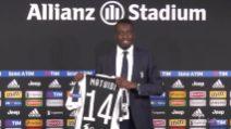 Matuidi alla Juventus con la maglia numero 14