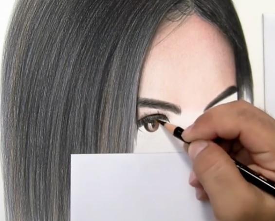 Come Disegnare Occhi Realistici A Matita Lartista Mostra Il Suo