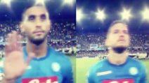 Napoli-Nizza, l'urlo del San Paolo sull'inno della Champions League