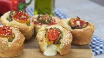 Bell pepper roses: it's a simple recipe, but the result is really incredible!
