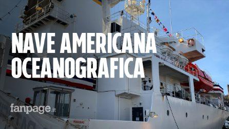 Approda a Napoli la nave oceanografica della Marina Militare Americana
