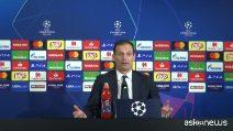 """Juve agli ottavi di Champions, Allegri: """"Abbiamo centrato l'obiettivo"""""""
