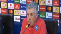 """Champions, Ancelotti al Napoli: """"Se non passiamo siamo dei co...ni"""""""