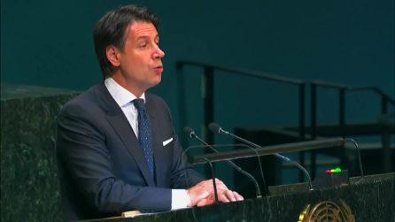 Quando Conte annunciava all'Onu il sostegno italiano al Global compact sui migranti