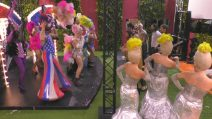 """Il cast di """"Priscilla"""" si esibisce per i vip nella Casa del Grande Fratello"""