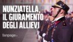 Nunziatella, giuramento in piazza Plebiscito a Napoli per gli allievi del 231esimo corso