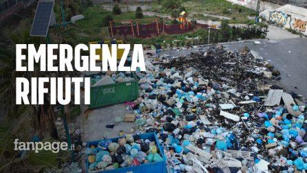 """Torna l'emergenza rifiuti nel napoletano: """"Nuovi roghi a Torre del Greco"""""""
