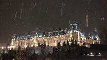 Una location da sogno: la nevicata rende tutto magico