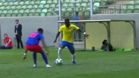 Vinicius incanta con una giocata pazzesca: un mix tra Ronaldinho e Neymar