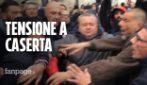 Terra dei fuochi, tensione a Caserta all'arrivo di Matteo Salvini