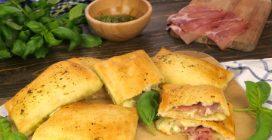 Calzoncini veloci al pesto: ecco come preparare in 20 minuti un antipasto delizioso!