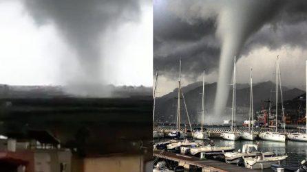 Maltempo al sud: Puglia, Calabria e Campania colpite dalle trombe d'aria