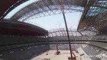 Mondiali di Doha, il Qatar svela l'avanzamento dei lavori