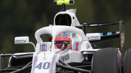 Robert Kubica torna in F1 con la Williams