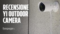 Recensione Yi Outdoor Camera: sorveglianza da esterni con il miglior rapporto qualità prezzo