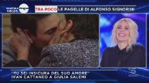 GF Vip 3: Ivan Cattaneo bacia Francesco Monte