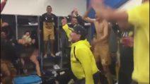 Maradona, show negli spogliatoi coi Dorados